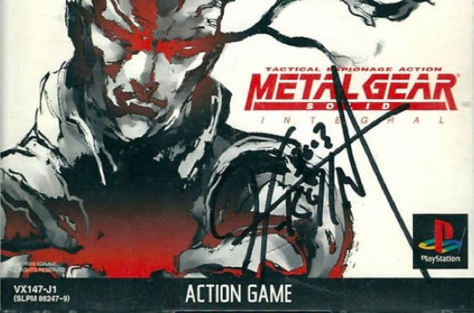 Buy signed Metal Gear Solid games to help Japan