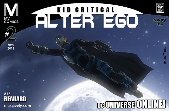 Alter Ego: Issue #2 - Learning to fly in DC Universe Online
