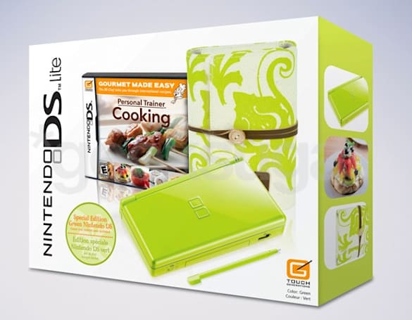 Nintendo rolls out lime green DS bundle just in time for Mother's Day
