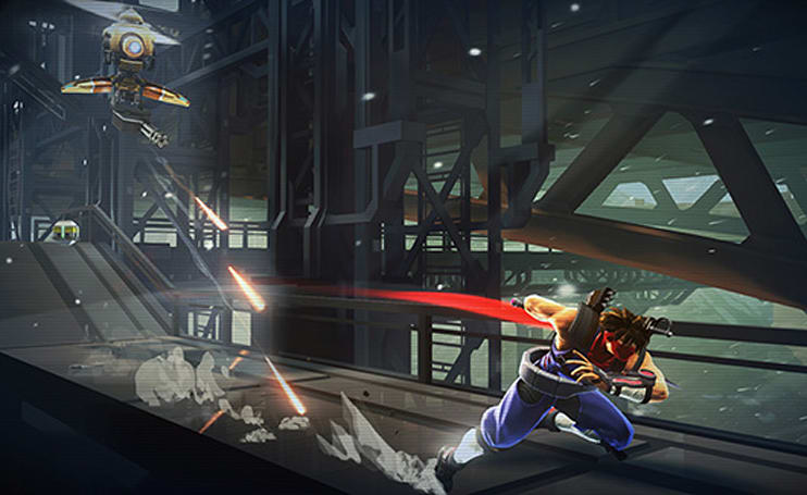 Capcom fan service runs thick in Strider