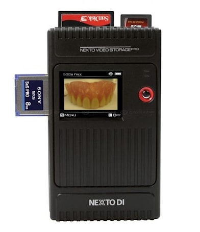 Nexto's NVS2500 archives your photos, dreams, and memories