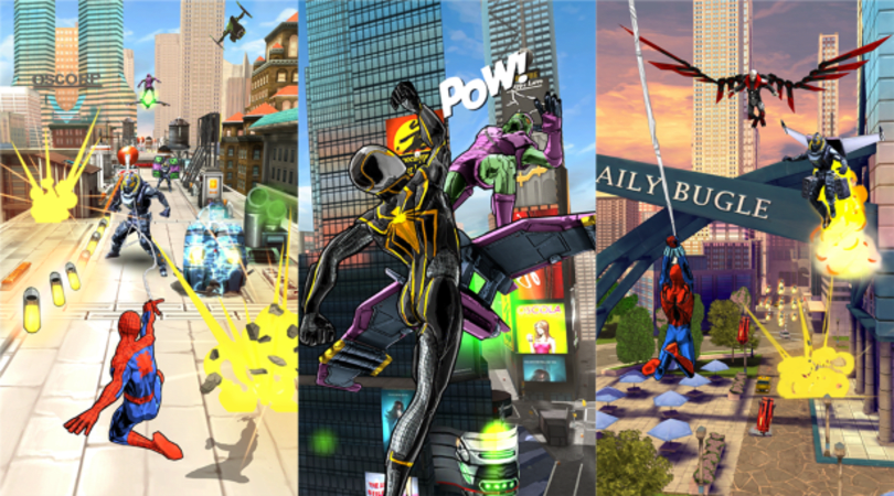 Spider-Man: Unlimited is an endless web-swinger