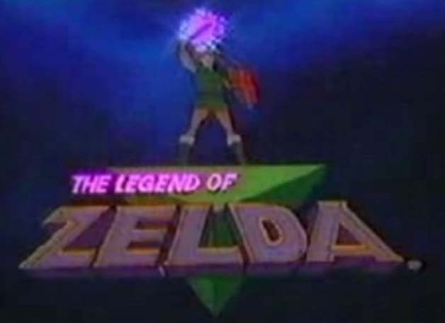 Zelda cartoon retro blast