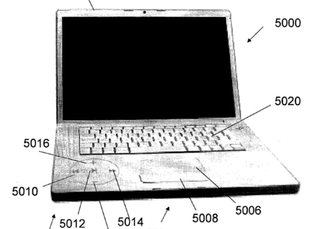 Apple applies for 'disappearing button' patent