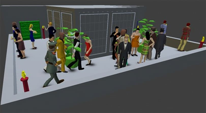 Two new (super difficult) Spy Party maps in the works