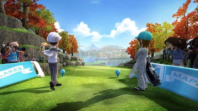 Kinect Sports: Season 2 'Maple Lakes' DLC tees off on December 20