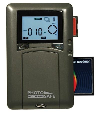 Digital Foci's Photo Safe compact storage for photogs