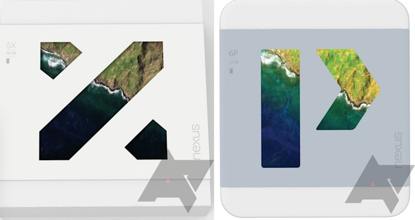 Nexus '5X' and '6P' boxes leak out ahead of Google's Android event (update)