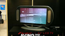 Ultmost Technology's 42-inch oval LCD on display