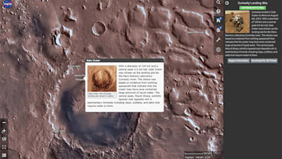 NASA's Mars Trek is Google Earth for the red planet