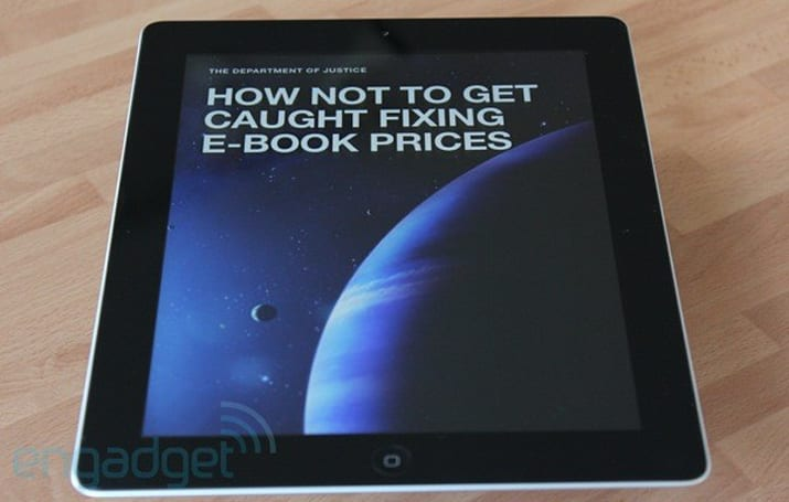 DOJ defends Apple e-book price fixing injunction, says publishers had it easy