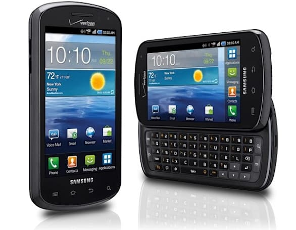 Samsung Stratosphere cleared for Verizon landing October 13th
