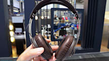Sennheiser's Momentum headphones bring their leathery, metal goodness to IFA, we go hands-on (video)