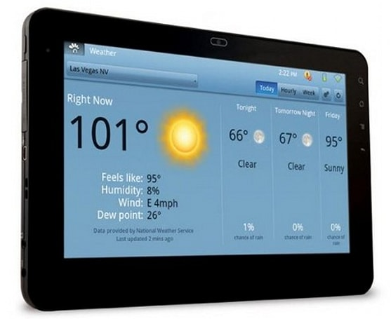 ViewSonic G Tablet overclocked to 1.4GHz, goes on sale to celebrate