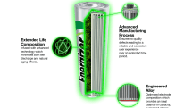 ハイブリッド車のバッテリーを再利用した単3・単4型充電池登場。リサイクル素材でエコに貢献、Energizerから