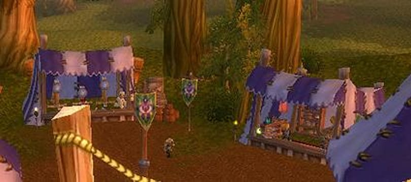 The Darkmoon Faire is in town