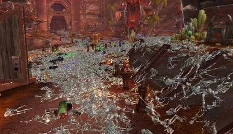 World of Warcraft cities become insta-deathtraps, hacker suspected