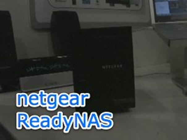 Show floor video: Netgear ReadyNAS stores and plays it all