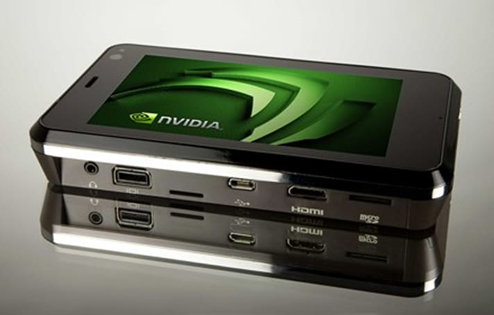 NVIDIA shows off APX 2500 cellphone applications processor