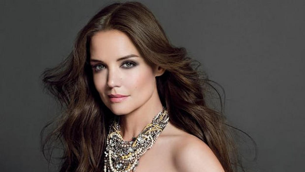 Katie Holmes' Smoldering New Bobbi Brown Ad Campaign