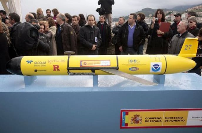 Rutgers' underwater roboglider crosses the Atlantic, claims to be on business trip