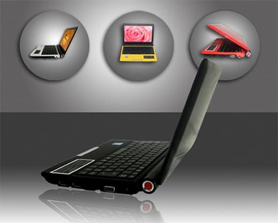 Swordfish Net 102 Dual: the first netbook with twin Atom CPUs