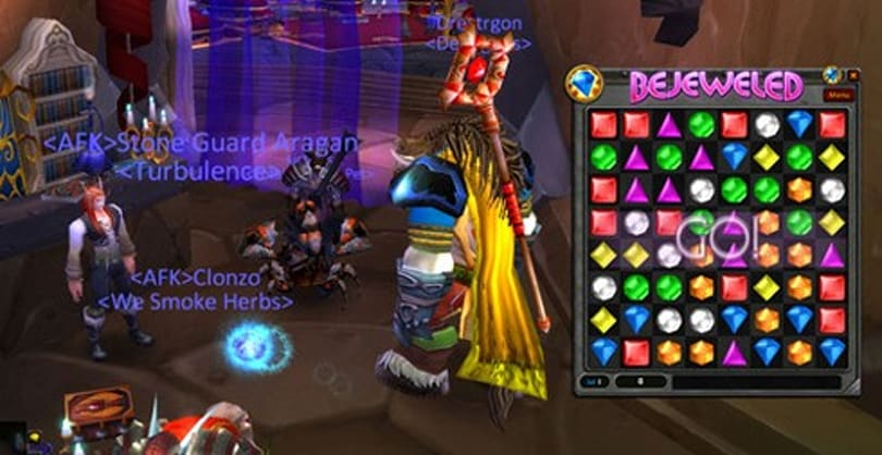 Bejeweled add-on coming to World of Warcraft