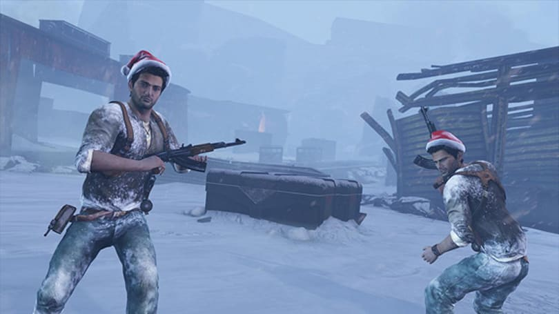 PSA: Uncharted 2 double cash weekend, Santa hats in play
