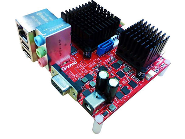 Gizmo Board is an AMD-powered embedded system for developers and tinkerers