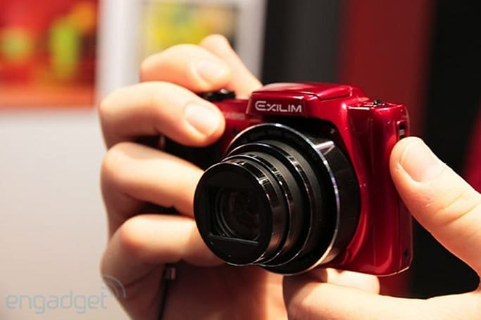 Casio's  Exilim EX-H50 superzooms its way to Photokina, we go hands-on (video)