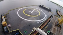 SpaceX recounts past mistakes before next barge test landing