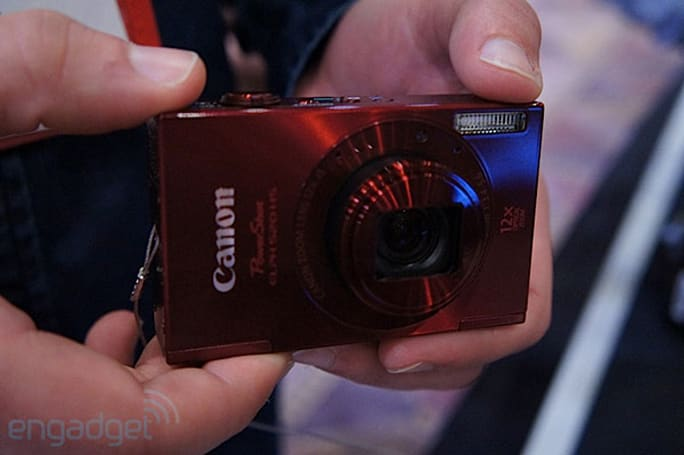 Canon ELPH 520 HS camera: hands-on (video)