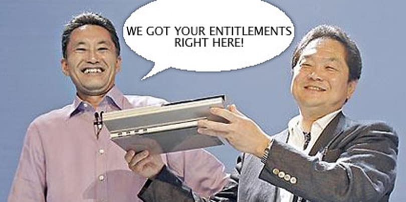 Entitle this! Sony names their own achievements