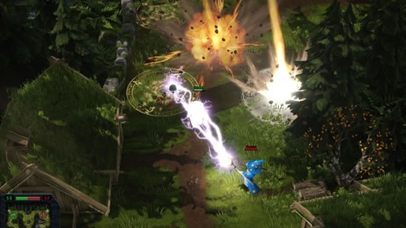 MOBA is all the mage in Magicka: Wizard Wars