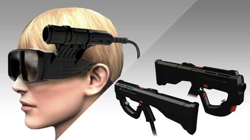 Metal Gear Arcade mixes 3D glasses with head-tracking for this season's hottest new look