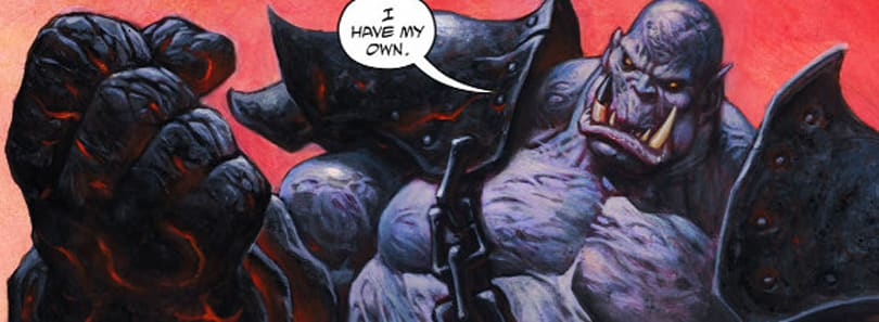 New Blackhand comic at the official site