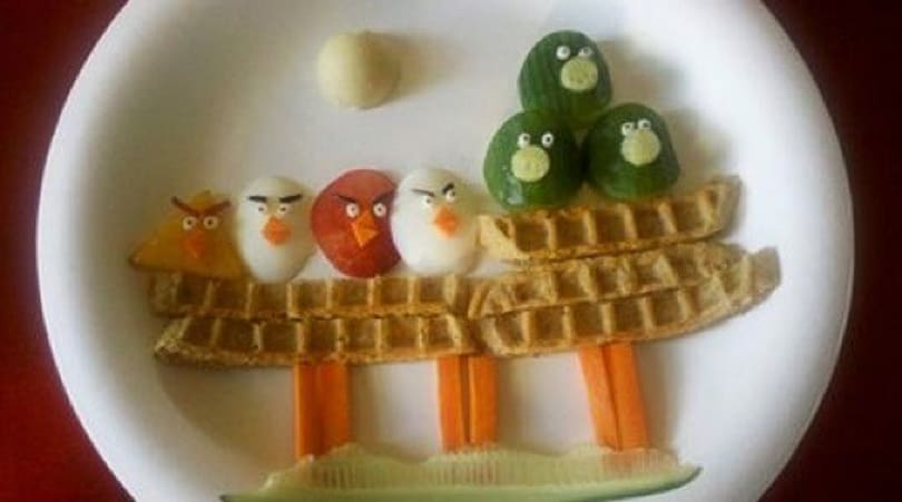 Foto Find: Angry Birds breakfast