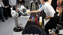 CAFERO robot waiter serves coffee, does nothing for your loneliness