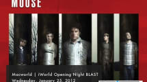Modest Mouse headlining Macworld | iWorld Opening Night BLAST