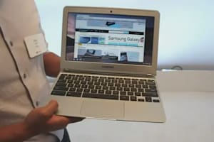 Google 11-Inch ARM-Based Samsung Chromebook Hands-on