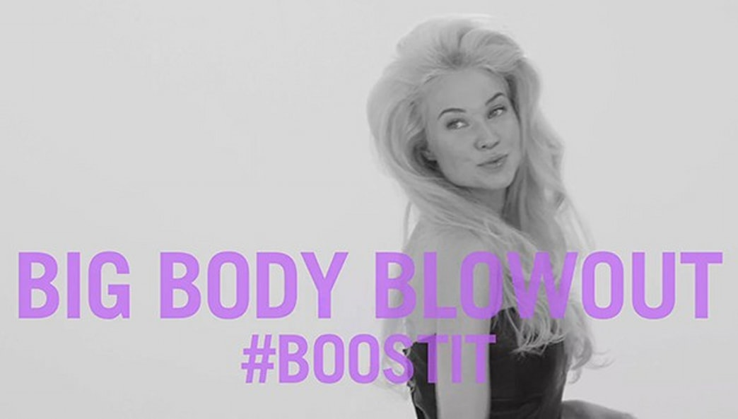 Try this big body blowout to boost your hairdo