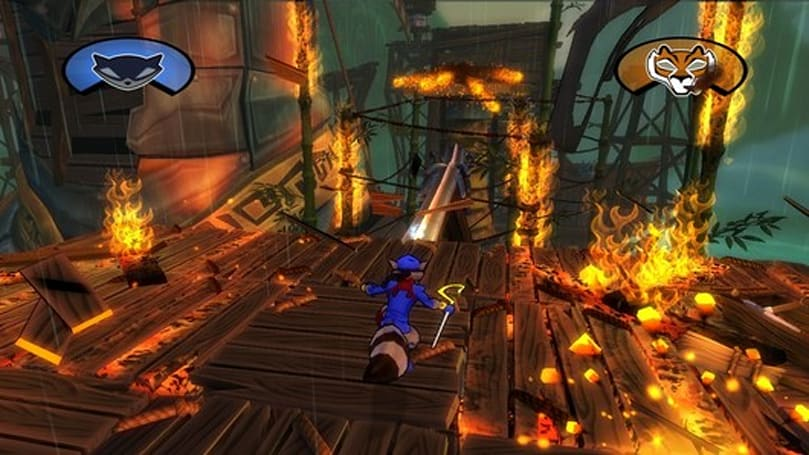 Sly Cooper and gang play dress-up through time