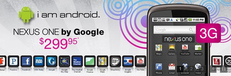 Nexus One starting to show up in third party retail channels, commands big money