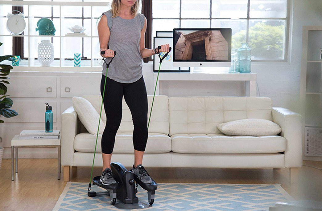 Shop this video: The space-saving elliptical you need