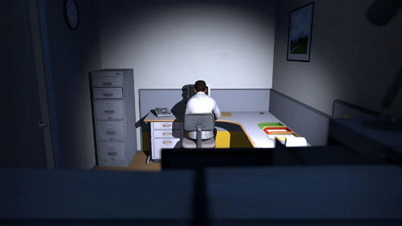 Playing like nobody's watching in The Stanley Parable