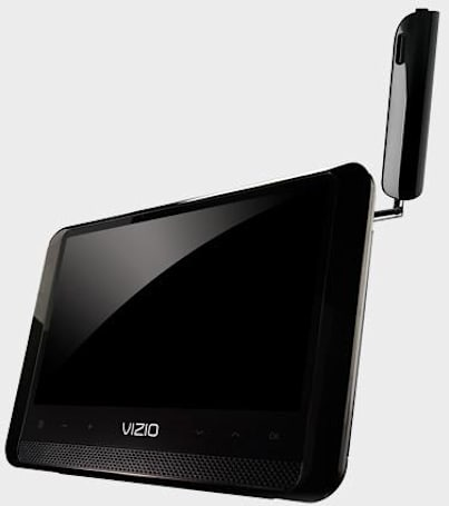 VIZIO's 7-inch portable VMB070 Razor LED TV now available
