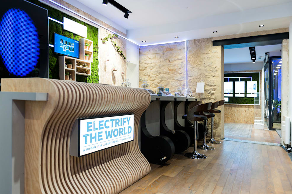 Existe una cafetería en París en la que solo puedes pagar con energía
