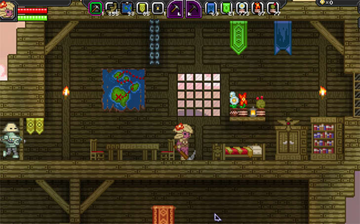 Over one million have signed up to explore Starbound