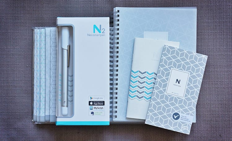 Engadget giveaway: win a Neo smartpen N2 and notebook pack!