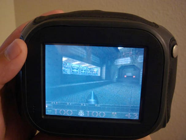 Quake ported to Chumby makes for an adorable first-person shooter